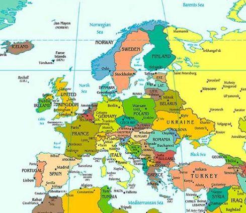 地圖-歐洲地圖
