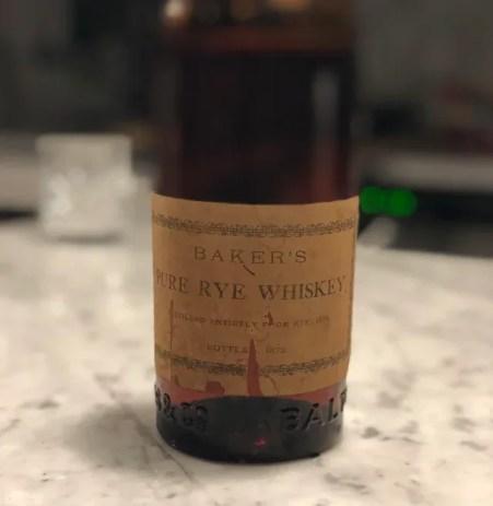 酒世界紀錄-Baker's Pure Rye Whiskey