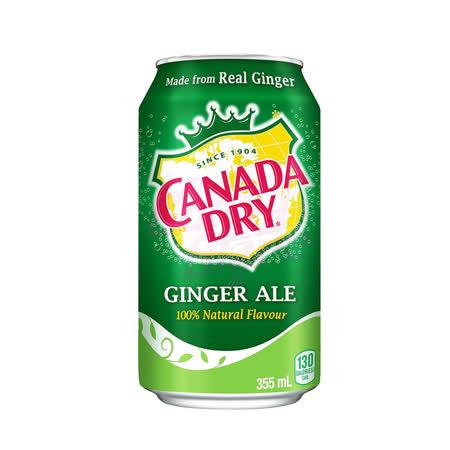 薑汁汽水 -Canada Dry