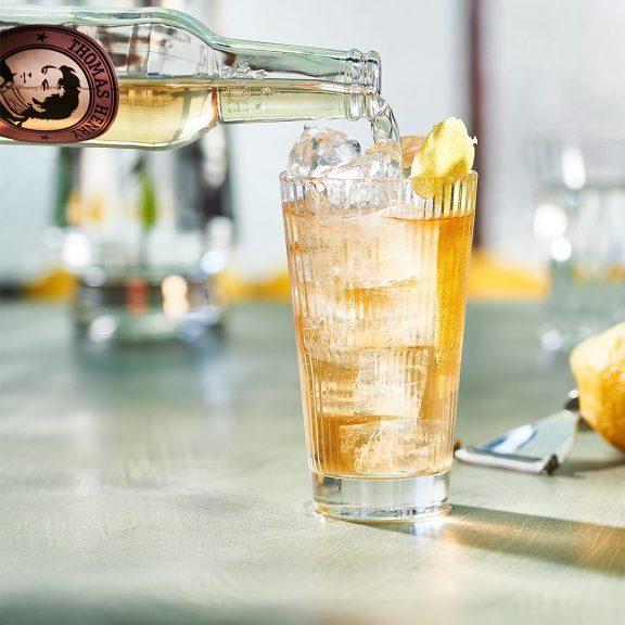 薑汁汽水調酒 -琴霸克