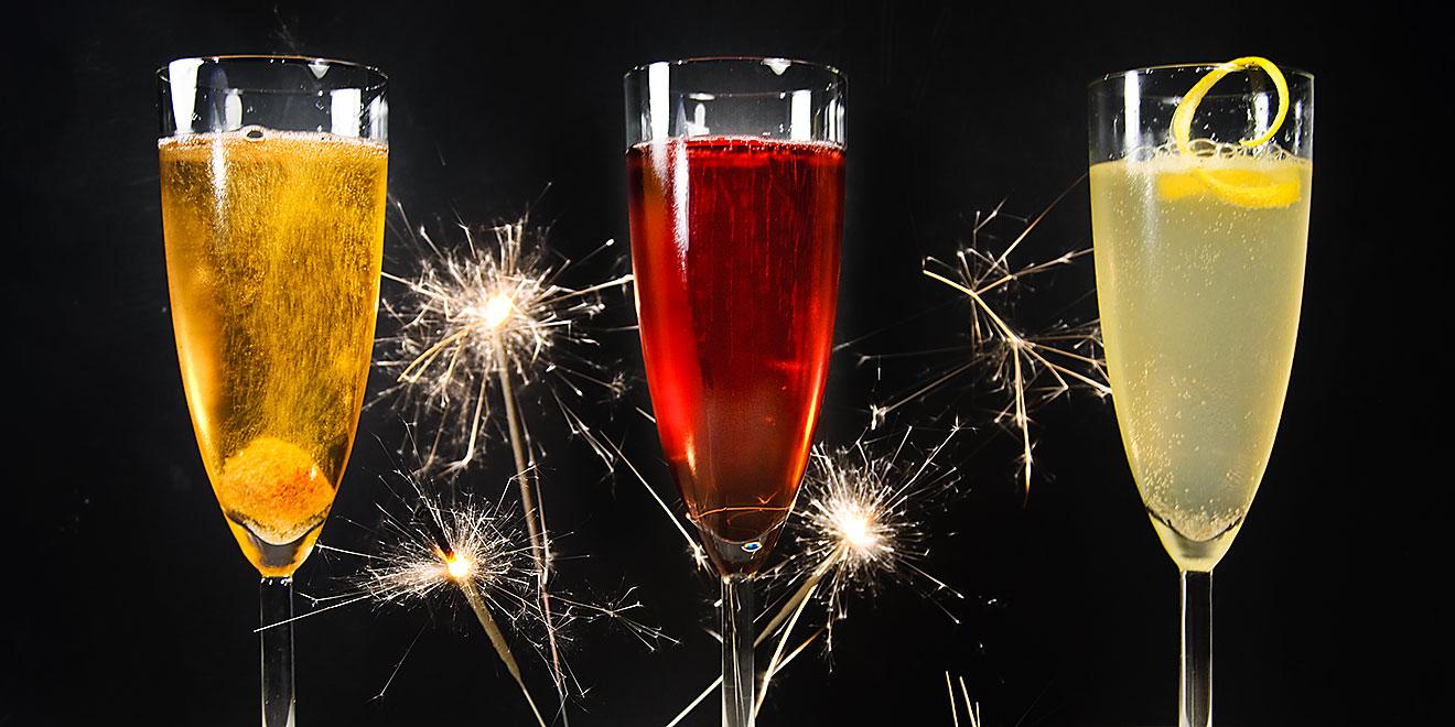 Cocktails Zu Silvester Kir Royal French 75 Und Champagne
