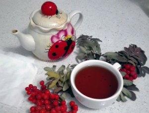 Рябиновый чай