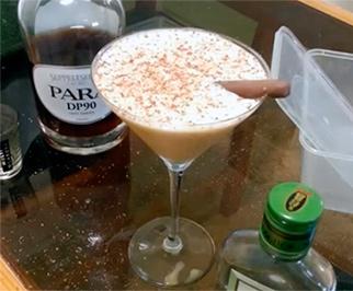 Любимые коктейли флипы Коктейль Молочно-Винный Флип