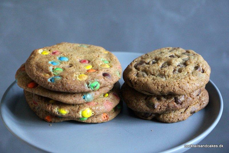 Opskrift på chokolade cookies