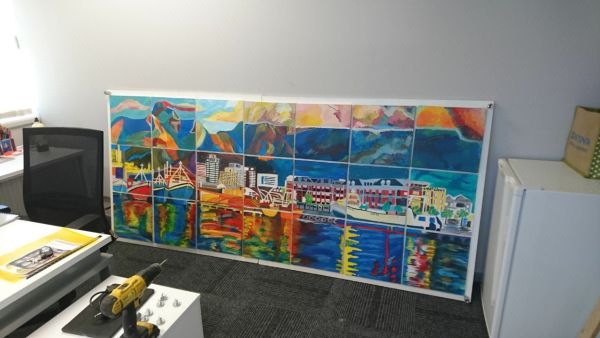 Group Team Mural painting