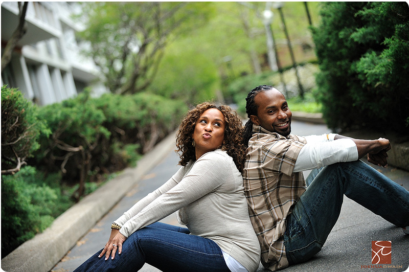 soho engagement pictures by joshua dwain in new york city