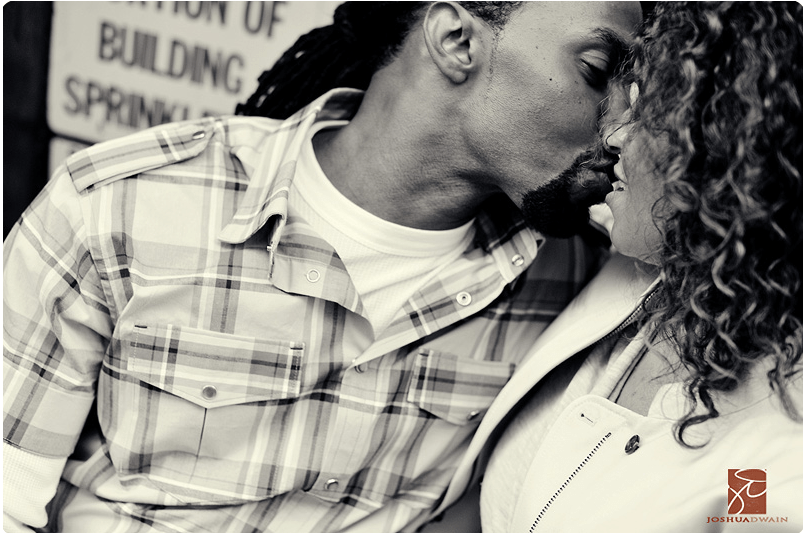 soho engagement shoot by joshua dwain