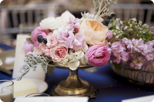 Roses, ranunculus, peonies stock centerpiece bouquet arrangement elizabeth anne designs melissa schollaert