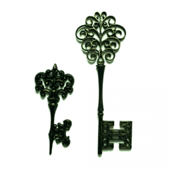 vintage skeleton key marie antoinette wedding decor