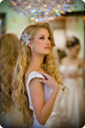 Long Hair Ideas for wedding