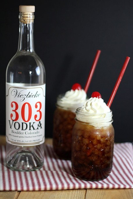 Root Beer Vodka Float