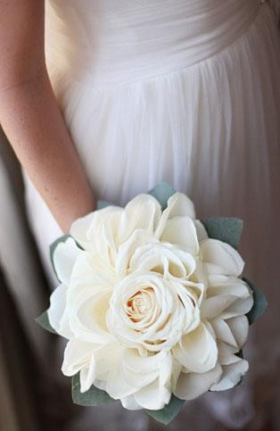 Composite Rose Wedding Bouquet