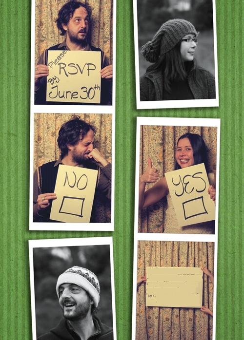 Photo RSVP Card