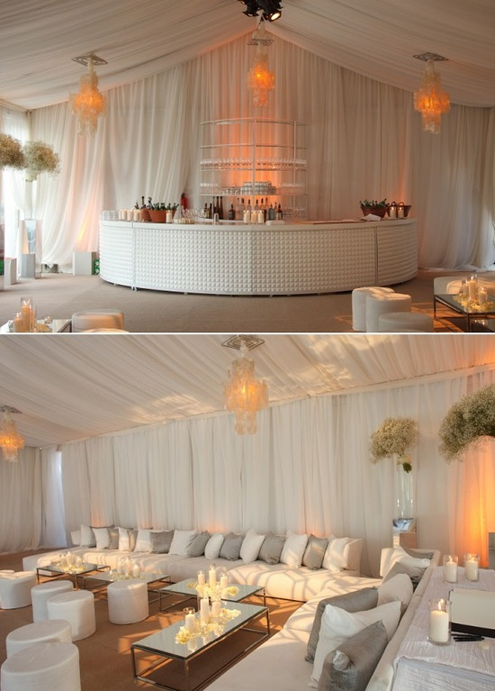 Wedding Lounge for Cocktail Style Reception