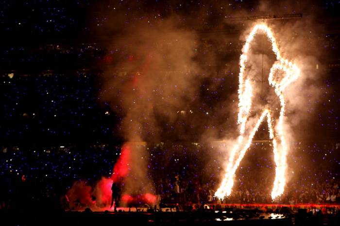 beyonce superbowl intro