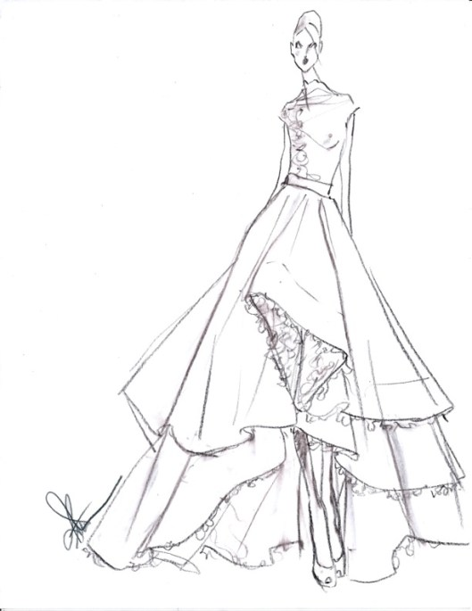 RIVINI BY RITA VINIERIS SS2014 SKETCH3