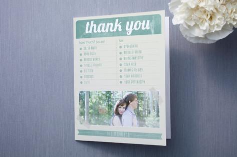 Sweet Thank You Card Ideas