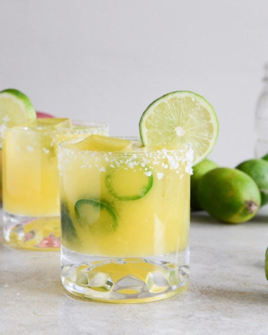 Mango Jalapeno Cocktail