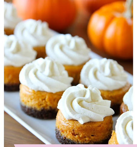 Fall Entertaining Dessert Pumpkin Cheese Cake Ideas