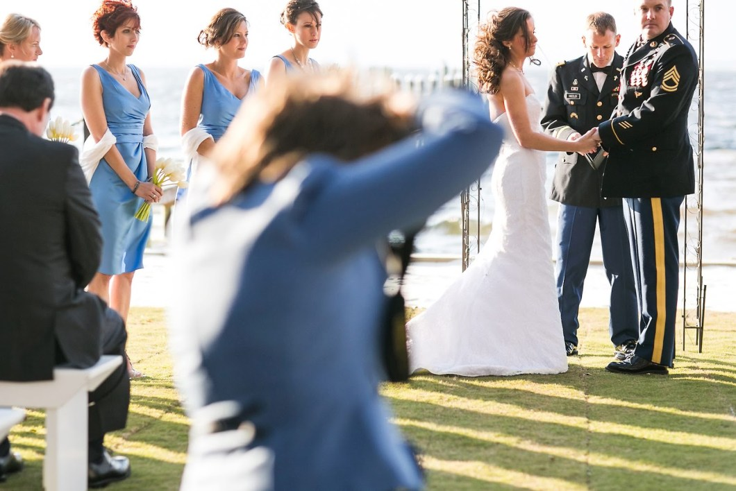Photo via Masterpiece Weddings