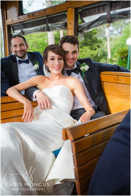 wedding trolley saint simons island jekyll island