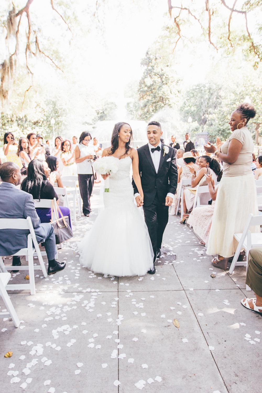 Forsyth Park Fountain Wedding Savannah Georgia