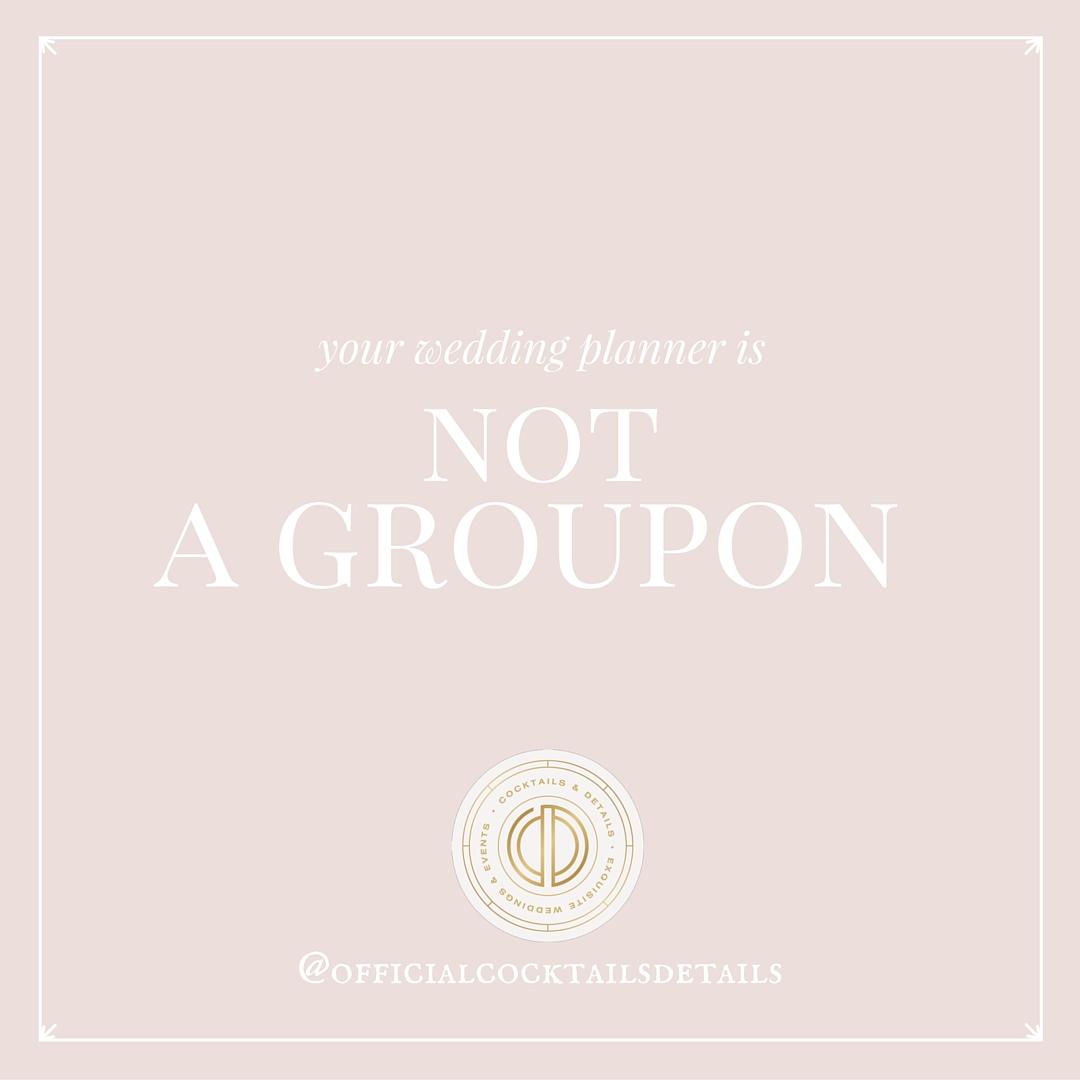 wedding planning advice discounts groupon thumbtack