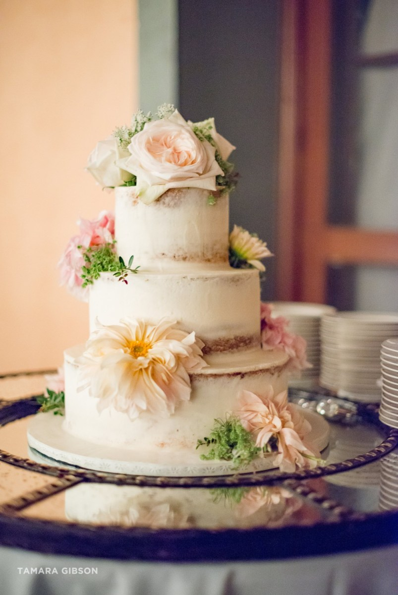 Jekyll Island Wedding Cake