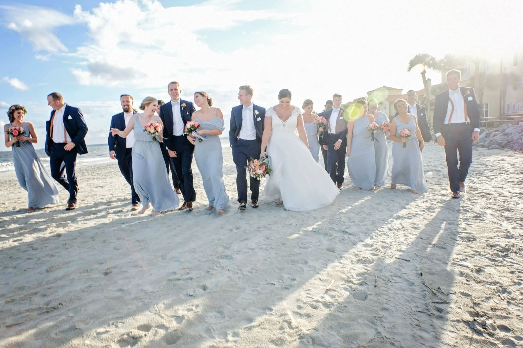 Beach weddings on Saint Simons Island