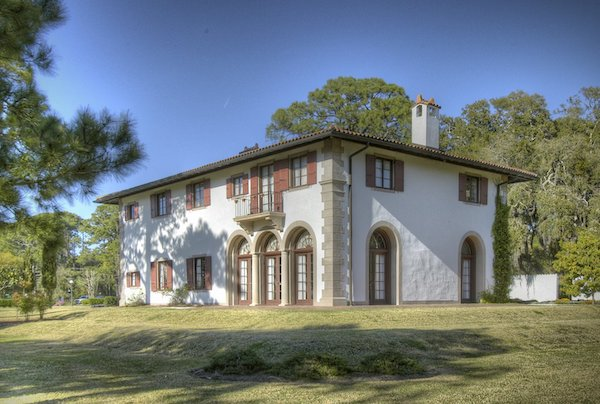 Villa Ospo on the historic Jekyll Island