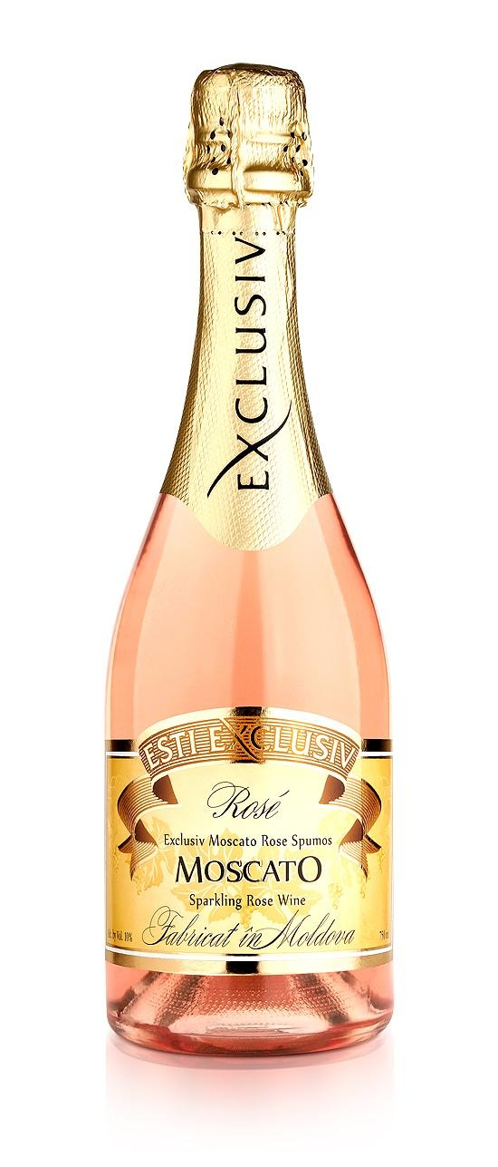 Rose Moscato Wine