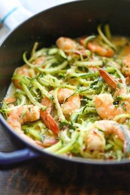 zucchini shrimp scampi-1
