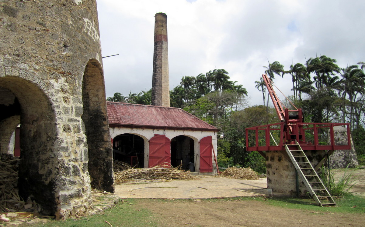 The origins of rum at St. Nicholas Abbey in Barbados