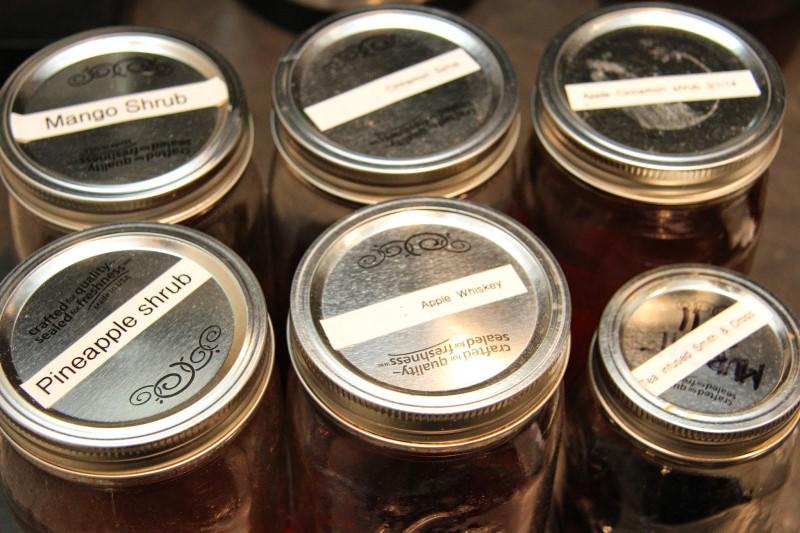 Labeled jars