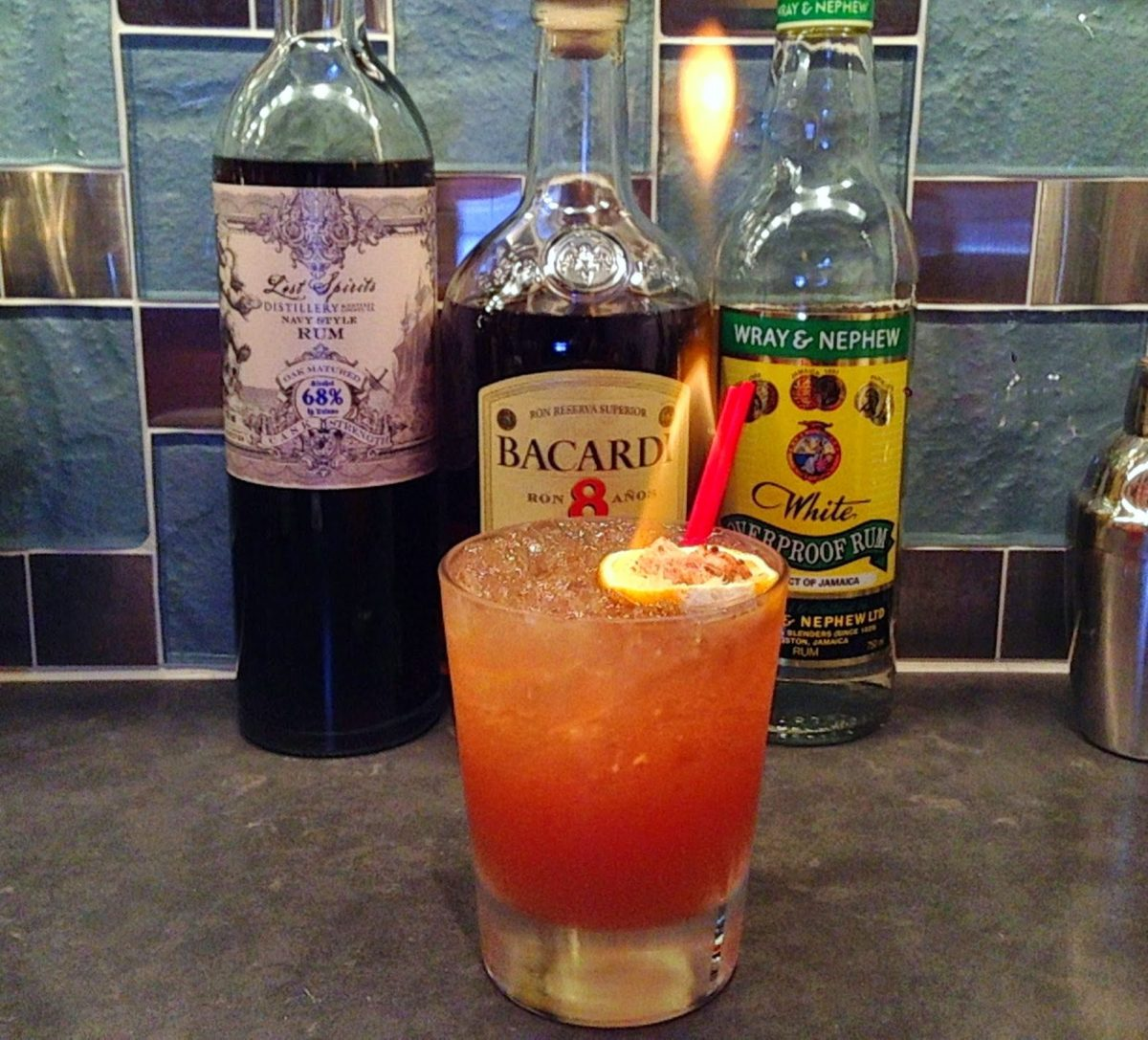 Lost Over Jamaica – Jet Pilot inspired Tiki