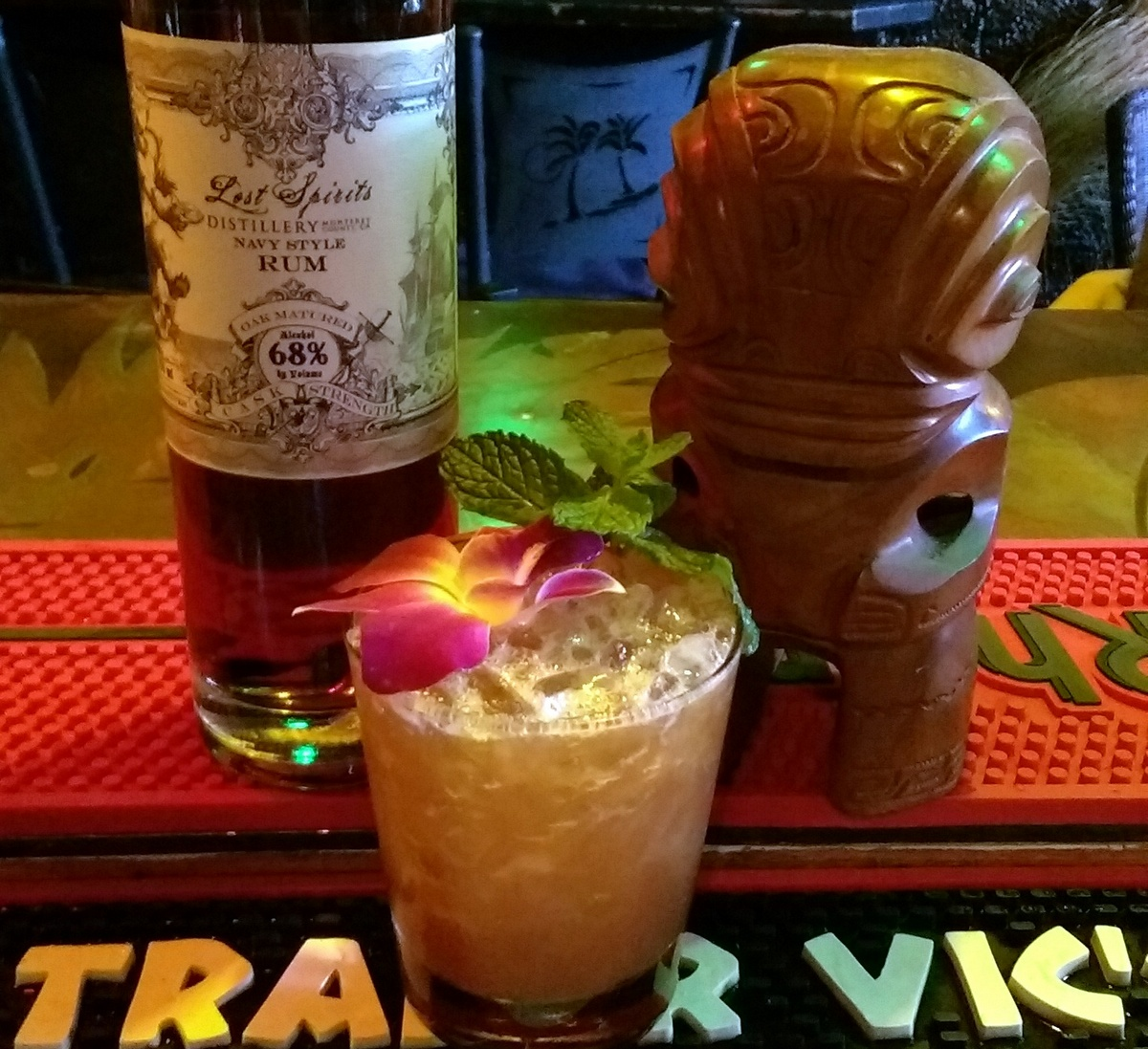 Lunar Tiki: The Ganymede Cocktail