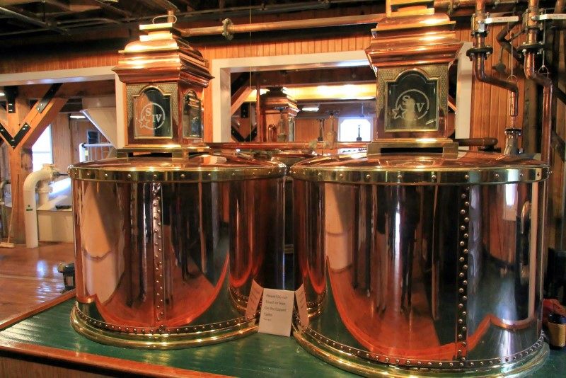 Maker's Mark distillery spirit safe