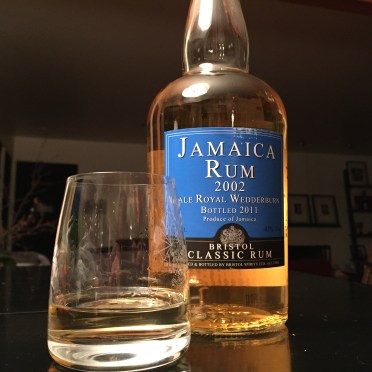 Suitcase Rum: 2002 Vale Royal Wedderburn (Jamaica)