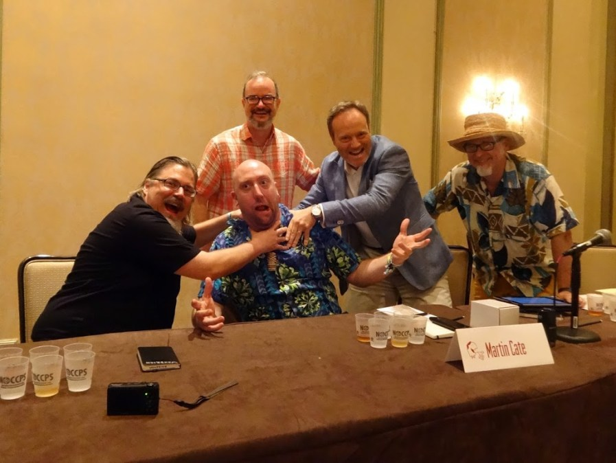 Dave Wondrich, Martin Cate, Paul Clarke, Alexandre Gabriel, Jeff Berry at Tales of the Cocktail