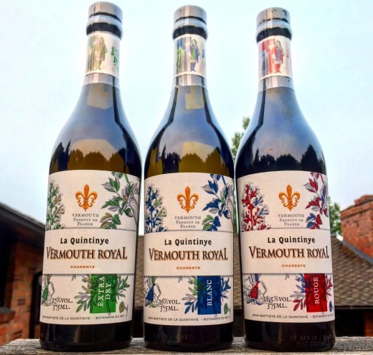 Checking out the La Quintinye Vermouth Lineup