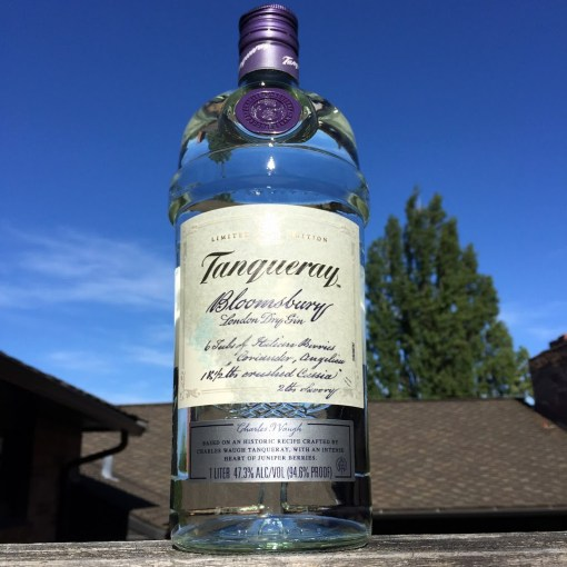 Checking out Tanqueray's Bloomsbury Limited Release Gin