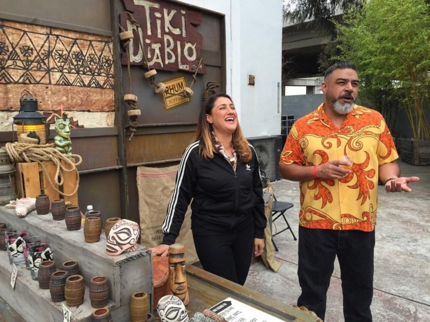 Tiki Diablo booth at California Rum Fest 2015