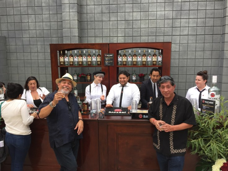 Bacardi booth at California Rum Fest 2015