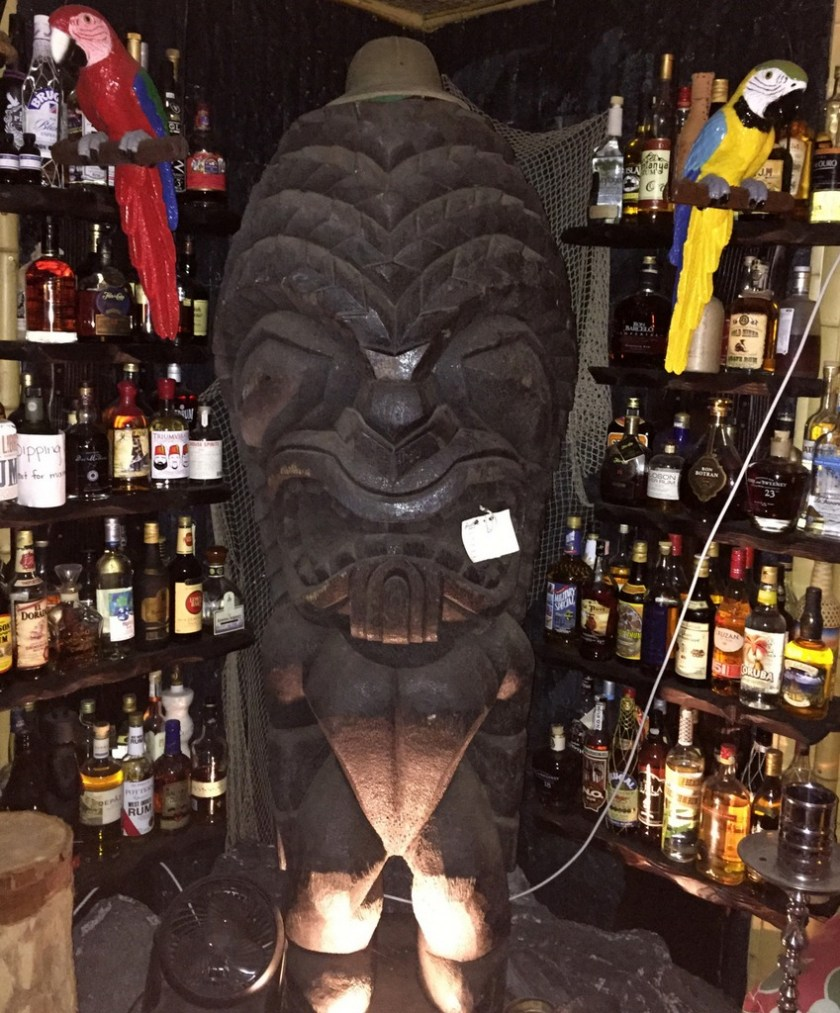 As seen at Mark Holt's Tiki party