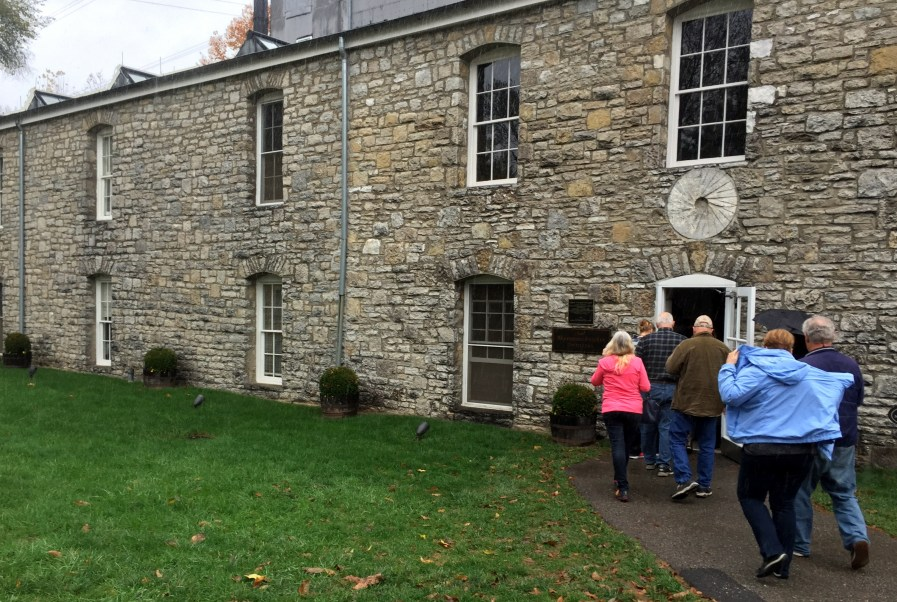 Woodford Reserve main distillery building
