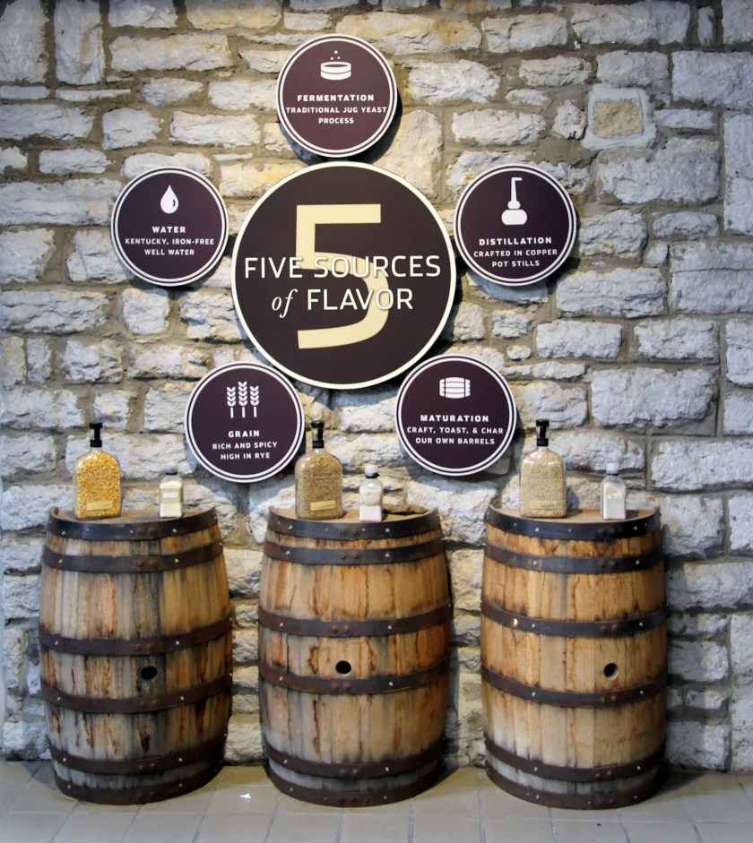 Woodford Reserve five steps to flavor