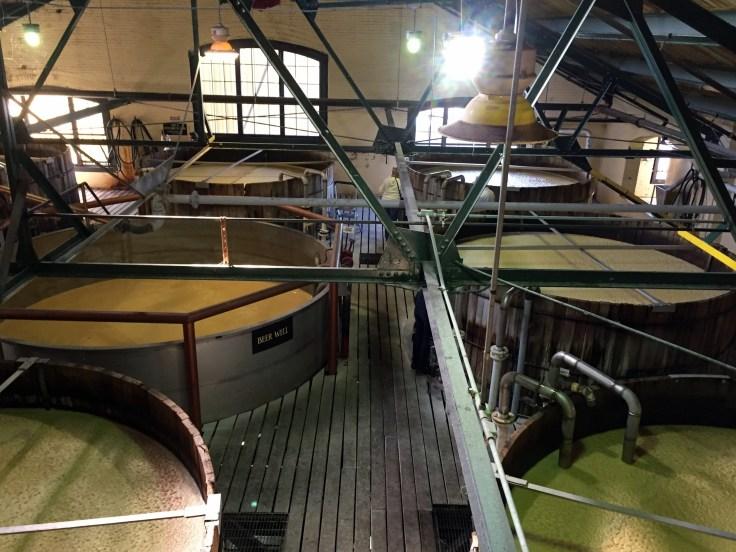 Four Roses distillery fermentation
