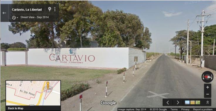 Cartavio sign
