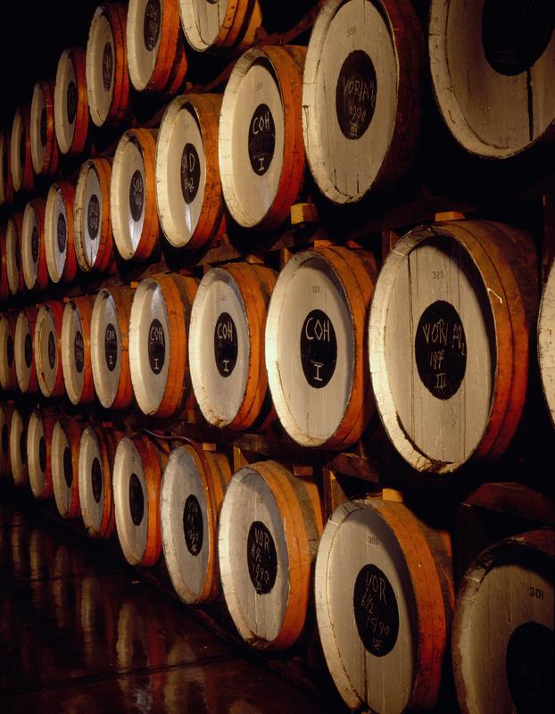 Barrels at E&A Scheer