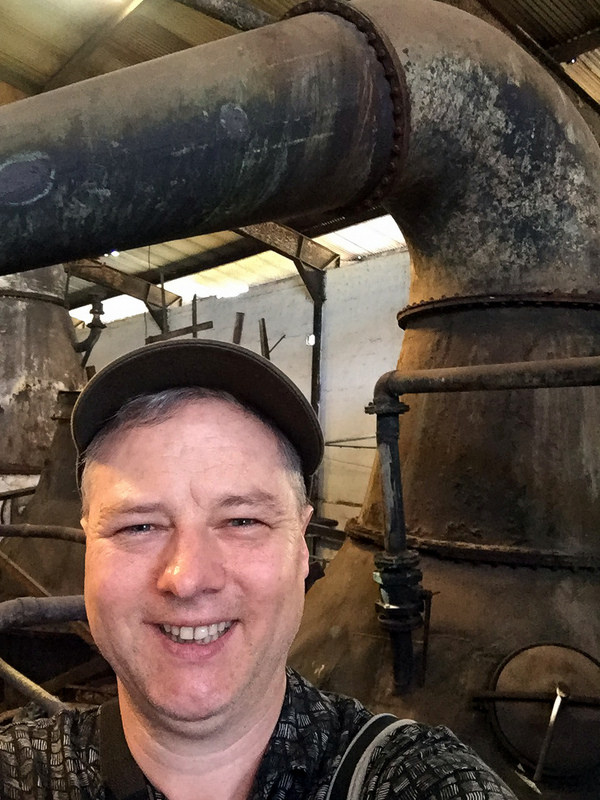 Pot stills at Long Pond distillery